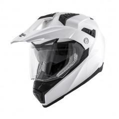 Casco integrale KV30 Enduro Basic Bianco lucido