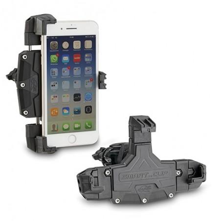 Pinza universale porta smartphone per il fissaggio a moto