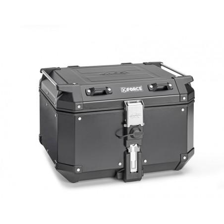 Bauletto Kappa KFR480B in alluminio verniciato nero 48lt