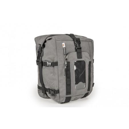 Tank bag grigia estensibile. Modulabile con borsello RA317