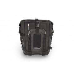 Tank bag nera estensibile. Modulabile con borsello RA317