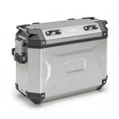Coppia di valigie laterali Kappa in alluminio naturale 37lt