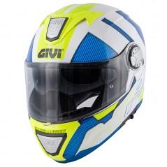 Casco Modulare GIVI X.23 Sidney Protect Bianco / Blu / Giallo